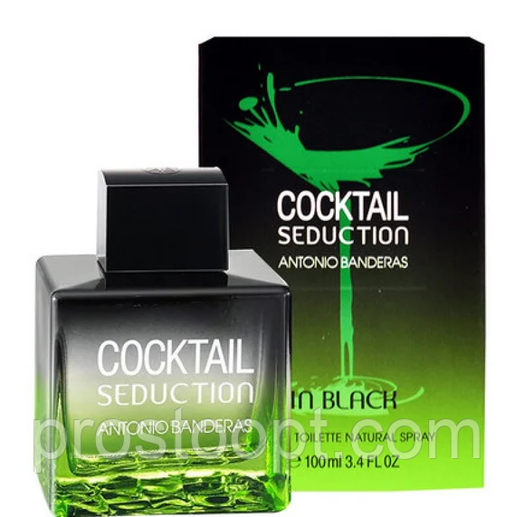 Мужская туалетная вода Antonio Banderas Cocktail Seduction in Black for Men 100 мл