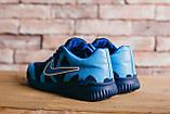 Мужские кроссовки джинсовые весна/осень синие CrosSAV 48, фото 3