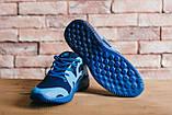 Мужские кроссовки джинсовые весна/осень синие CrosSAV 48, фото 5