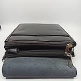 Шкіряна чоловіча сумка через плече / Мужская кожаная сумка через плечо Polo B338-2, фото 8