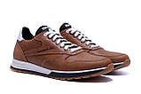 Мужские кожаные кроссовки  Reebok Classic Leather Trail Сoffe ;, фото 3