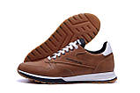 Мужские кожаные кроссовки  Reebok Classic Leather Trail Сoffe ;, фото 5