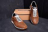 Мужские кожаные кроссовки  Reebok Classic Leather Trail Сoffe ;, фото 7