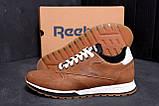 Мужские кожаные кроссовки  Reebok Classic Leather Trail Сoffe ;, фото 9