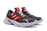 Мужские кожаные кроссовки Adidas Running Team  ;, фото 3