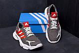 Мужские кожаные кроссовки Adidas Running Team  ;, фото 7