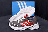 Мужские кожаные кроссовки Adidas Running Team  ;, фото 8