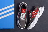 Мужские кожаные кроссовки Adidas Running Team  ;, фото 9