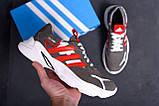 Мужские кожаные кроссовки Adidas Running Team  ;, фото 10