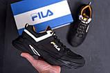 Мужские кожаные кроссовки Fila Flex Zone   ;, фото 7