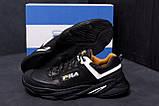 Мужские кожаные кроссовки Fila Flex Zone   ;, фото 8