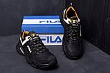 Мужские кожаные кроссовки Fila Flex Zone   ;, фото 9