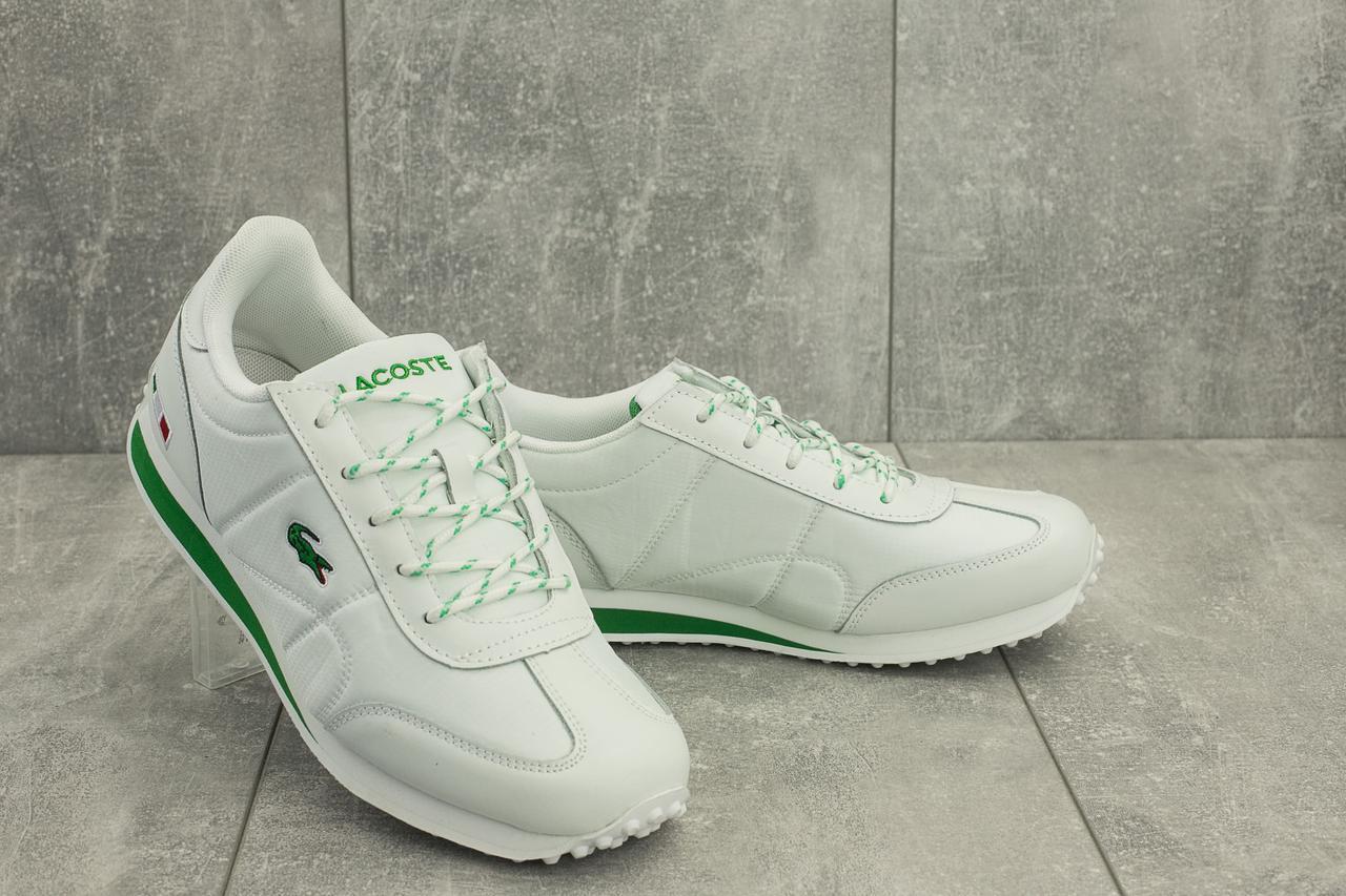 Мужские кроссовки текстильные весна/осень белые Ditof A 1084 -3