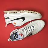 Кроссовки Nike Air Max 97 White x OFF-White, фото 3