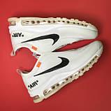 Кроссовки Nike Air Max 97 White x OFF-White, фото 4