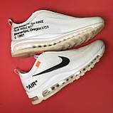 Кроссовки Nike Air Max 97 White x OFF-White, фото 5