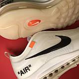 Кроссовки Nike Air Max 97 White x OFF-White, фото 9