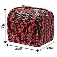 Сумка-чемодан для мастера маникюра, парикмахера и визажиста