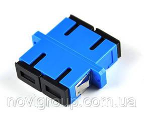 Адаптер оптичний з'єднання єднання SC / UPC-SC / UPC DUPLEX, в пачці по 20 штук Q20