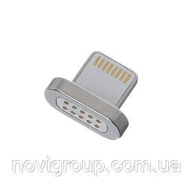Наконечник на магнітний кабель плоский USB 2.0 / Lighting (під кабель 15592)