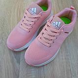 Кроссовки женские Adidas NEO розовые, фото 6