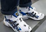 Мужские кроссовки Asics Gel Kayano 5 OG White реплика ААА, фото 7