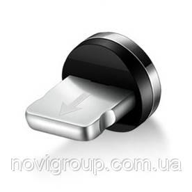 Наконечник на магнітний кабель круглий USB 2.0 / Lighting