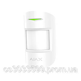 ¶Бездротовий датчик руху c радіочастотним скануванням Ajax MotionProtect Plus white