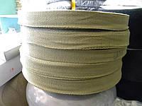 Лента киперная х/б 25 мм хаки 100 метров