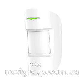 ¶Бездротовий датчик руху і розбиття Ajax CombiProtect white