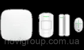 ¶Розширений комплект бездротової сигналізації Ajax StarterKit Plus white ( Hub