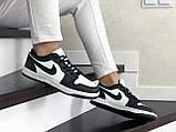 Кроссовки женские Nike Air Jordan 1 Low белые с черным, фото 4