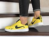 Кроссовки женские Nike Air Force желтые, фото 4
