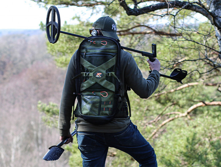 Рюкзак для металлоискателя XP Deus Backpack 280 + сумка для находок XP Finds Pouch Kit (XP-280)