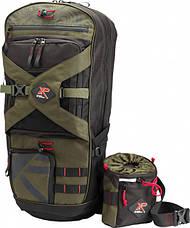 Рюкзак для металлоискателя XP Deus Backpack 280 + сумка для находок XP Finds Pouch Kit (XP-280), фото 2