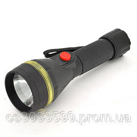 Ліхтарик ручний, 1 реж., Zoom, корпус-пластик, ударостойкий, живлення 2АА, мікс колір, BOX