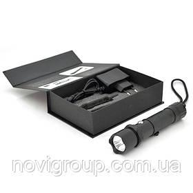Ліхтарик ручний  Xinsite, LED 3 реж., Zoom, корпус-алюміній, ударостойкий, 18650 ак-тор, СЗУ, BOX