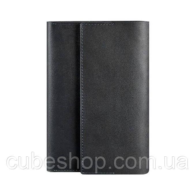 Кожаный блокнот софт-бук 5.1 (черный) A5
