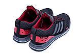 Мужские летние кроссовки сетка Adidas Summer Red, фото 3