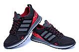 Мужские летние кроссовки сетка Adidas Summer Red, фото 5