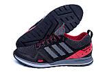 Мужские летние кроссовки сетка Adidas Summer Red, фото 6