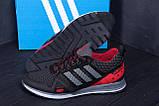 Мужские летние кроссовки сетка Adidas Summer Red, фото 9