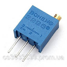 Резистор підлаштування BAOTER 3296W-1-503LF, 50 кОм, 50 штук в упаковці, ціна за штуку