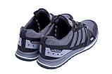 Мужские летние кроссовки сетка Adidas Summer Grey, фото 6