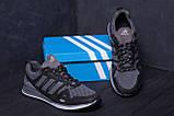 Мужские летние кроссовки сетка Adidas Summer Grey, фото 7