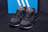 Мужские летние кроссовки сетка Adidas Summer Grey, фото 9