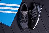 Мужские летние кроссовки сетка Adidas Summer Grey, фото 10