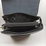 Шкіряна чоловіча сумка через плече / Мужская кожаная сумка через плечо Polo, фото 7