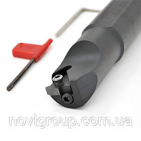 Різець різьбовий по металу зі змінними пластинами SNL0040T27