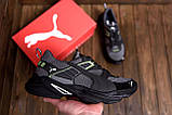 Мужские летние кроссовки сетка Puma, фото 8
